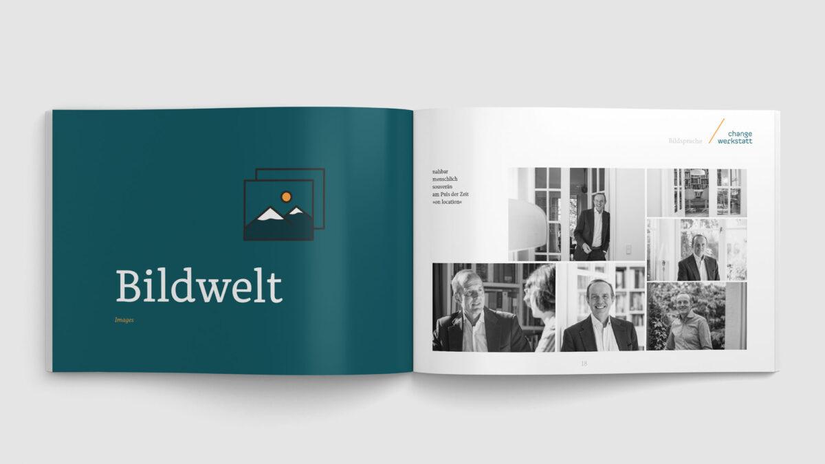 Helmut Söhler change-werkstatt Auszug aus dem Corporate Design Manual - Bildwelt