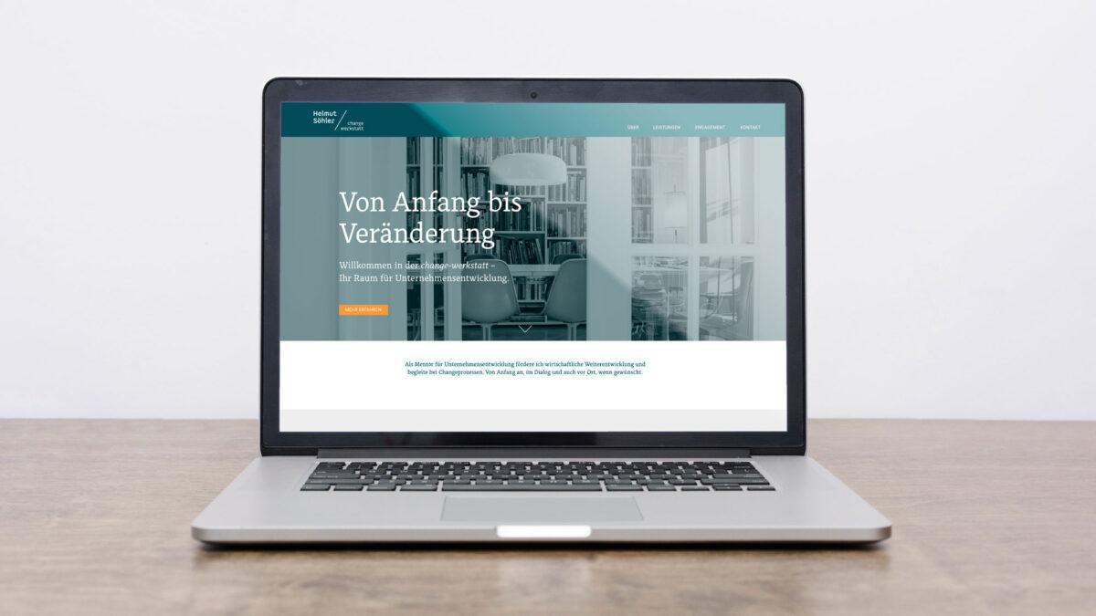 Webdesign Helmut Söhler change-werkstatt
