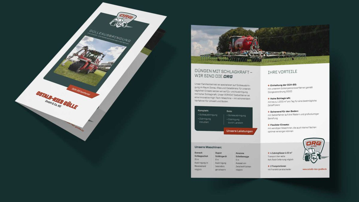 Mailing Ostalb-Ries Gülle GmbH