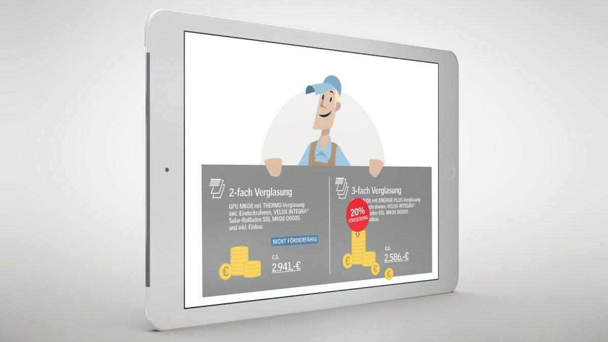 iPad Kostenvergleich Animation
