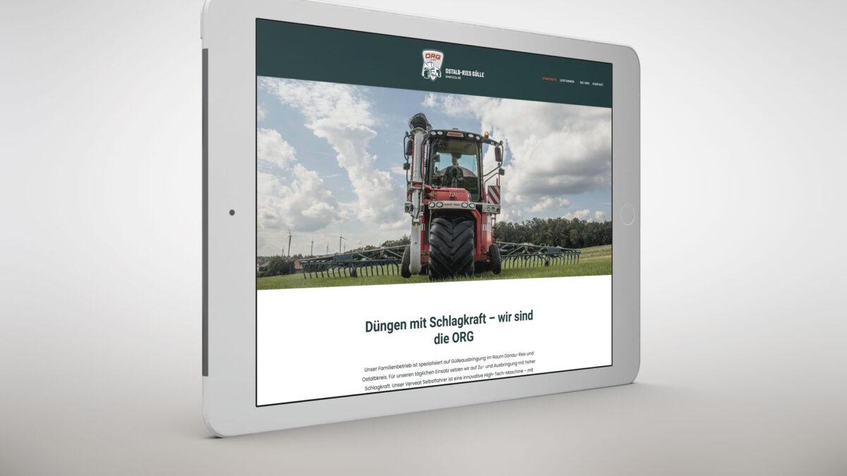 Ostalb-Ries Gülle GmbH Website